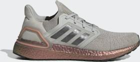 adidas Ultra Boost 20 metal grey/grey/signal coral (Herren) (FV4389)