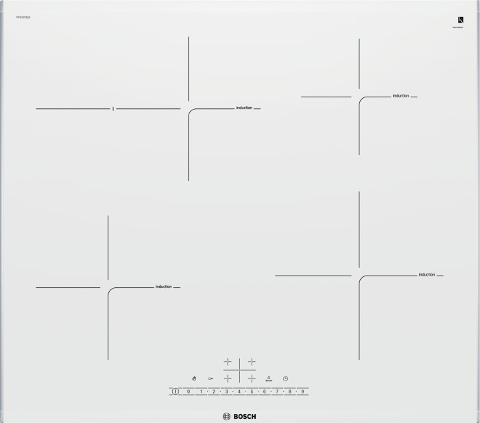 Bosch series 6 PIF672FB1E induction hob self-sufficient