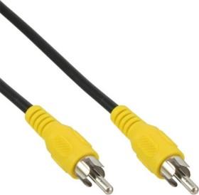 InLine Cinch Kabel 3m gelb (89937D)