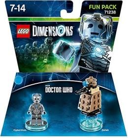 LEGO: Dimensions - Fun Pack: Doctor Who: Cyberman (PS3/PS4/Xbox One/Xbox 360/WiiU) (71238)