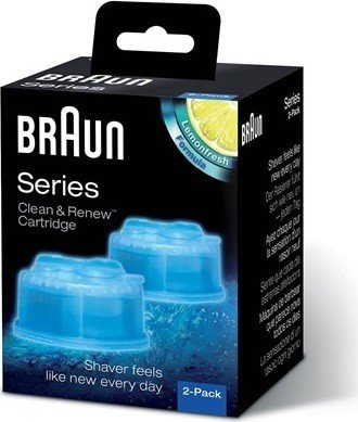 Braun CCR2 Clean&Renew cleaning cartridge (2-pack) (382683)