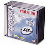 Verbatim CD-RW 74min/650MB, 25-pack