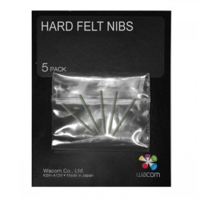 Wacom Intuos4 Hard Felt Pen Nibs, spare leads 5-pack (ACK-20003)