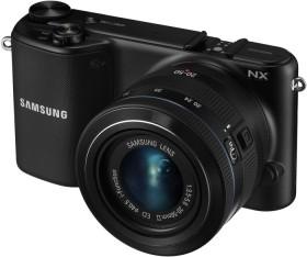 Samsung NX2000 schwarz mit Objektiv 20-50mm i-Function