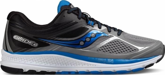 Details zu Saucony Guide 10 Laufschuhe S20350 1 grau schwarz blau EU 43 US 9,5
