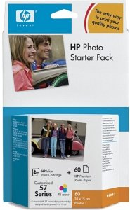 HP 57 Photo Starter Pack (Q7942AE)