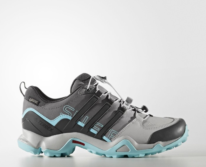 Adidas Schuhe Terrex Swift R GTX Women - grey two/utility black/clear aqua - UK 4,5 - Gr.37 1/3