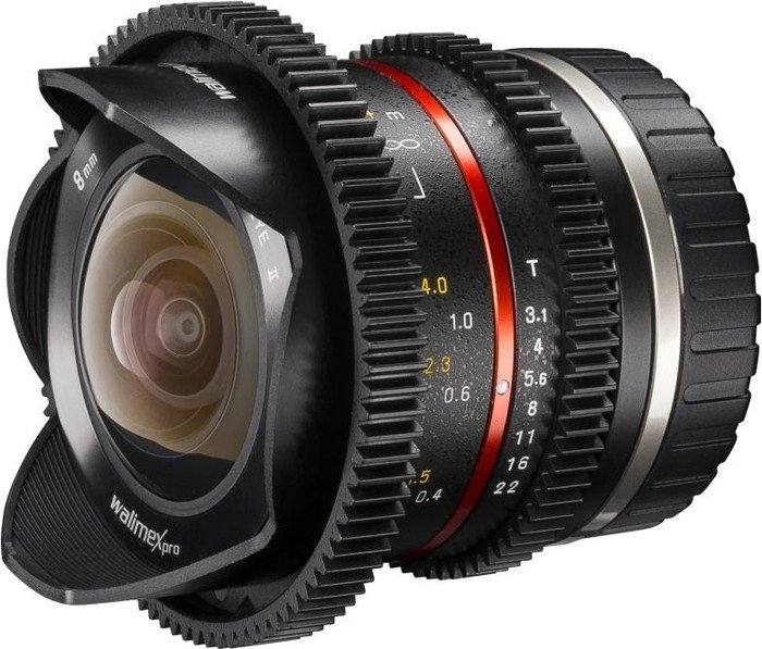Walimex Pro 8mm 3.1 Fisheye II VCSC für Sony E schwarz (20147)