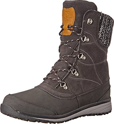 Salomon Hime mid LTR CSWP asphalt/pewter (ladies) (378393) -- via Amazon Partnerprogramm