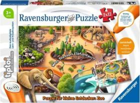 Ravensburger tiptoi Puzzle: Puzzle für kleine Entdecker: Zoo (00051)