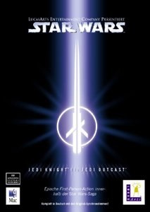 Star Wars: Jedi Knight 2 - Jedi Outcast (niemiecki) (MAC)