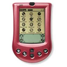Palm P10710U Palm m100 Faceplate Cover - Ruby Pearl (cover red) (Palm m100/m105)