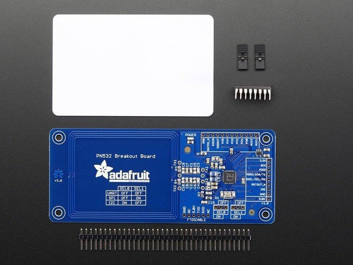 Tolako 13.56mHz PN532 NFC Reader and Writer NFC Card Module Kit for Arduino Raspberry Pi With IC Card and Key Tag