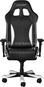 DXRacer King Series Gamingstuhl, schwarz/weiß (OH/KS57/NW)