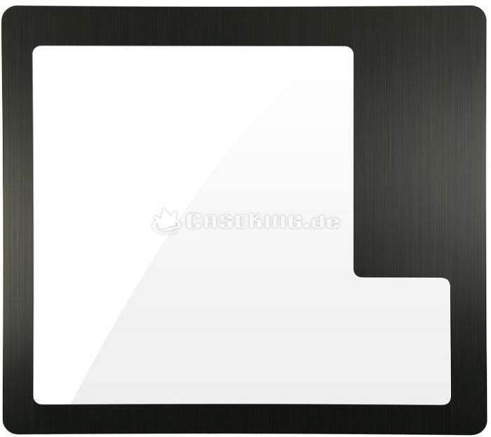 Lian Li side panel with side panel window for V1010, black -- © caseking.de