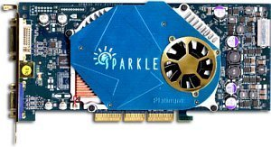 Sparkle SP8835PT, GeForce FX5900, 128MB DDR, DVI, TV-Out, AGP