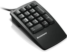 Lenovo Black Business Numeric Keypad, USB (33L3225)