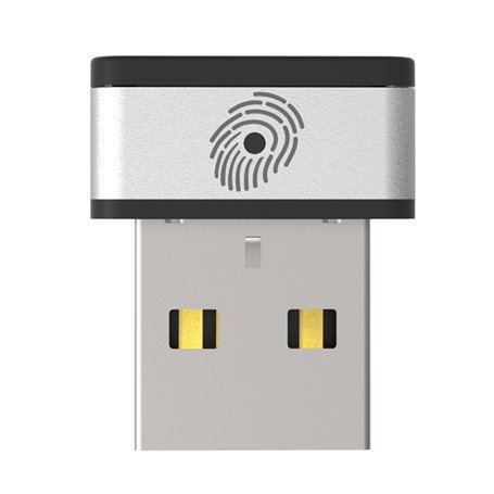 PQI My Lockey Fingerprint Key, Fingerprint Reader USB Dongle, USB