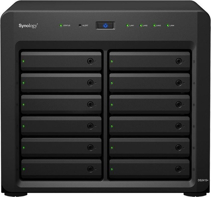 Synology Diskstation DS2415+ 72TB, 4x Gb LAN