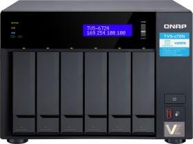 QNAP TVS-672N-i3-4G, 4GB RAM, 1x 5GBase-T, 2x Gb LAN