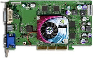 Sparkle SP8834U-DV, GeForceFX 5200 Ultra, 128MB DDR, DVI, ViVo, AGP