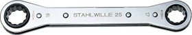 Stahlwille double-ended ratchet wrench 17/19x205mm (41131719)