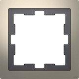 Merten System Design D-Life Rahmen, 1fach, nickelmetallic (MEG4010-6550)