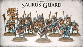 Games Workshop Warhammer Age of Sigmar - Seraphon - Saurus Guard (99120208016)