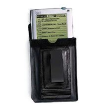 Palm 10407U Palm V Leather Belt Clip Case (Palm V,Vx,VxLE)
