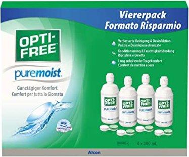 Alcon Opti-Free PureMoist All-in-one-Lösung 1200ml (4x 300ml) -- via Amazon Partnerprogramm