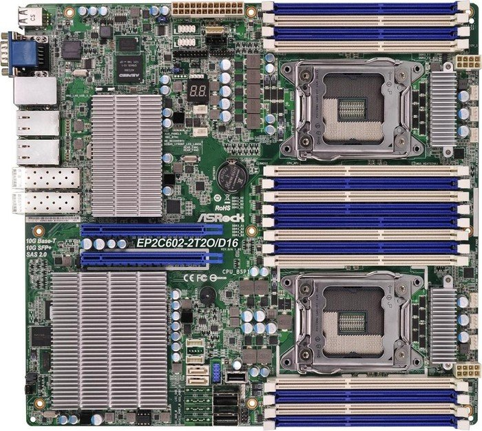 ASRock rack EP2C602-2T2O/D16