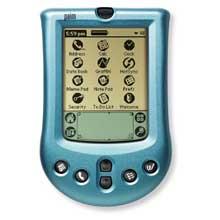 Palm P10720U Palm m100 Faceplate Cover - Azure (Palm m100/m105)