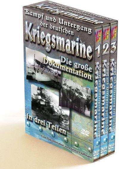 Kampf und Untergang der deutschen Kriegsmarine Box (Vol. 1-3) -- via Amazon Partnerprogramm
