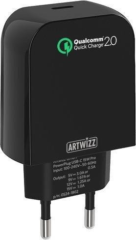 Artwizz PowerPlug USB-C Pro 15W schwarz (0531-1803)