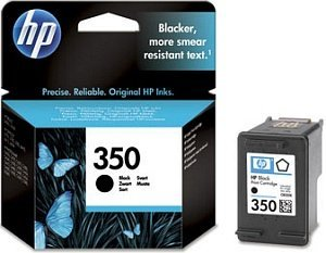 HP Printhead with ink Nr 350 black (CB335EE)