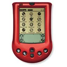 Palm P10722U Palm m100 Faceplate Cover - Turbo Red (Palm m100/m105)