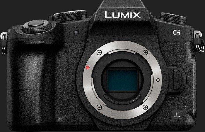Panasonic Lumix DMC-G81 schwarz Gehäuse