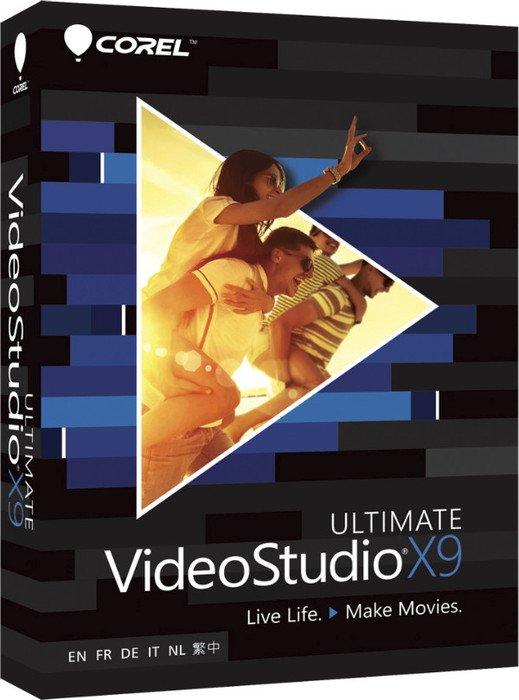 Corel: Video Studio X9 Ultimate (deutsch) (PC) (VSPRX9ULMLMBEU)