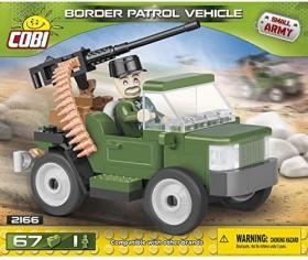 Cobi Small Army Border Patrol Vehicle (2166)