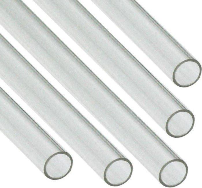 Nanoxia CF1 Hard Tube, 50cm 12/10mm klar, 5-fach (CF-PETG550) -- © PC-Cooling.de