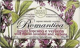 Nesti Dante Romantica Wild Tuscan Lavender and Verbena feste Seife, 250g