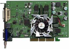 Sparkle SP7300M4, GeForce4 MX440 8X, 64MB DDR, DVI, TV-out, AGP