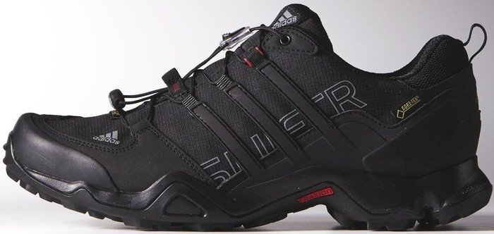 702517121 adidas Terrex Swift R GTX core black vista grey power red (men ...