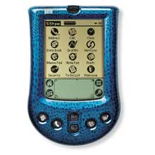 Palm P10725U Palm m100 Faceplate Cover - Blue Boa (Palm m100/m105)