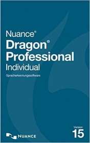 Nuance Dragon Professional Individual 15.0 wireless headset included (German) (PC) (K809G-GN9-15.0)