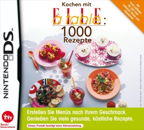 Kochen mit ELLE à Table: 1000 Rezepte (deutsch) (DS) -- via Amazon Partnerprogramm