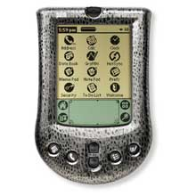 Palm P10726U Palm m100 faceplate Cover - Silver Snake (Palm m100/m105)