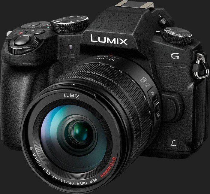 Panasonic Lumix DMC-G81 schwarz mit Objektiv Lumix G Vario 14-140mm 3.5-5.6 ASPH OIS (DMC-G81H)