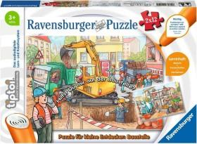 Ravensburger tiptoi Puzzle: Puzzle für kleine Entdecker: Baustelle (00049)