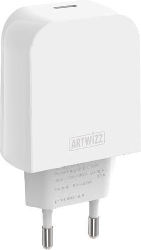 Artwizz PowerPlug USB-C 15W weiß (0708-1820)